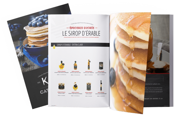 Sweet products catalog