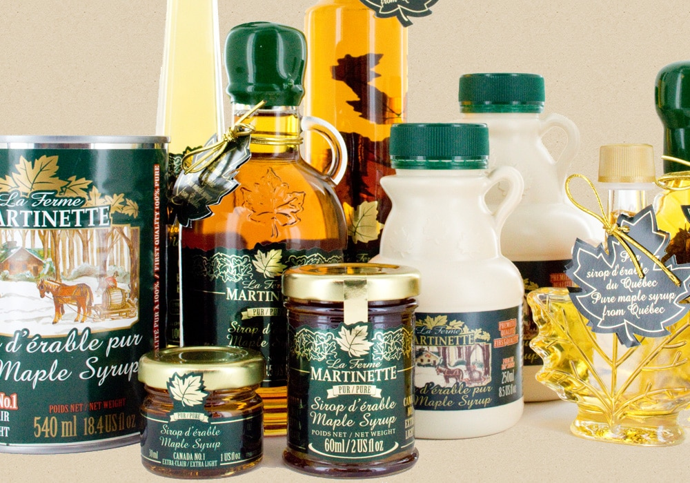 Wholesaler in maple syrup