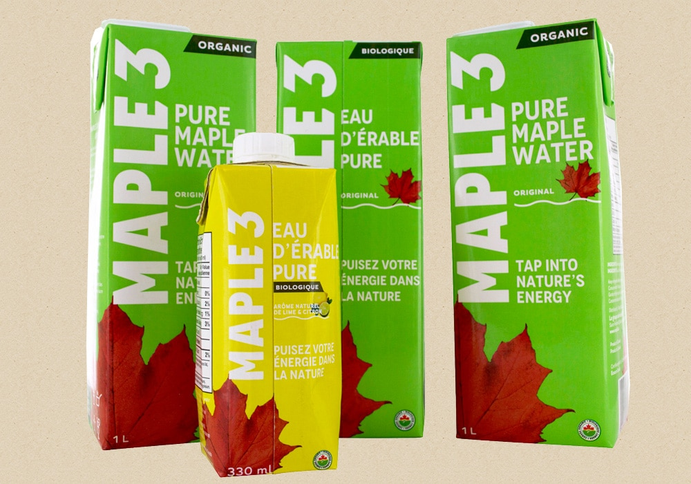 Wholesaler in pure water of maple
