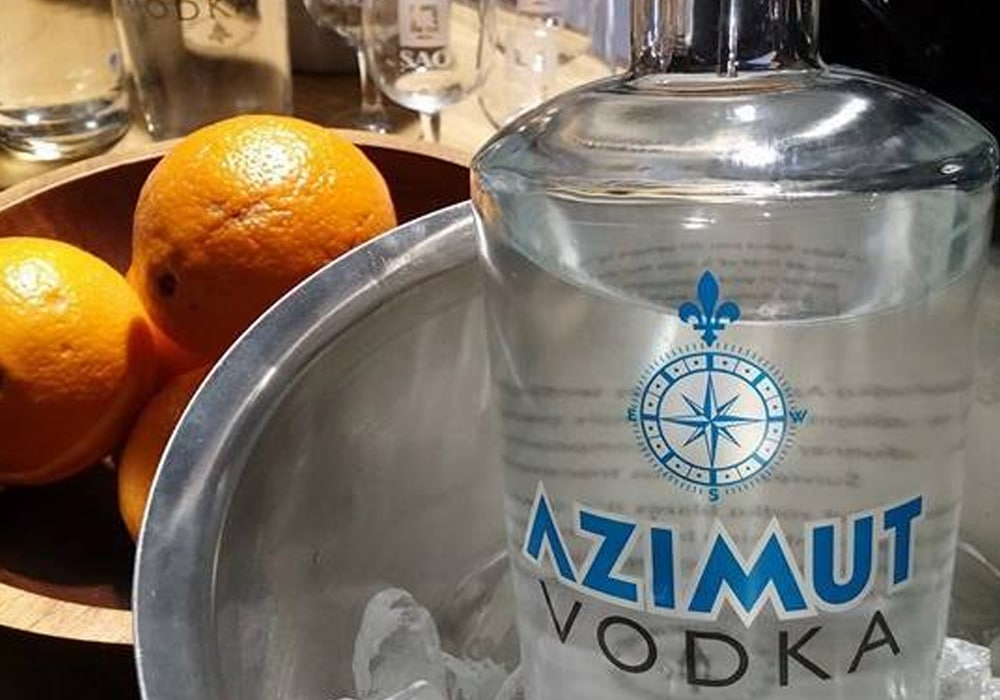 Azimut vodka retailer in France